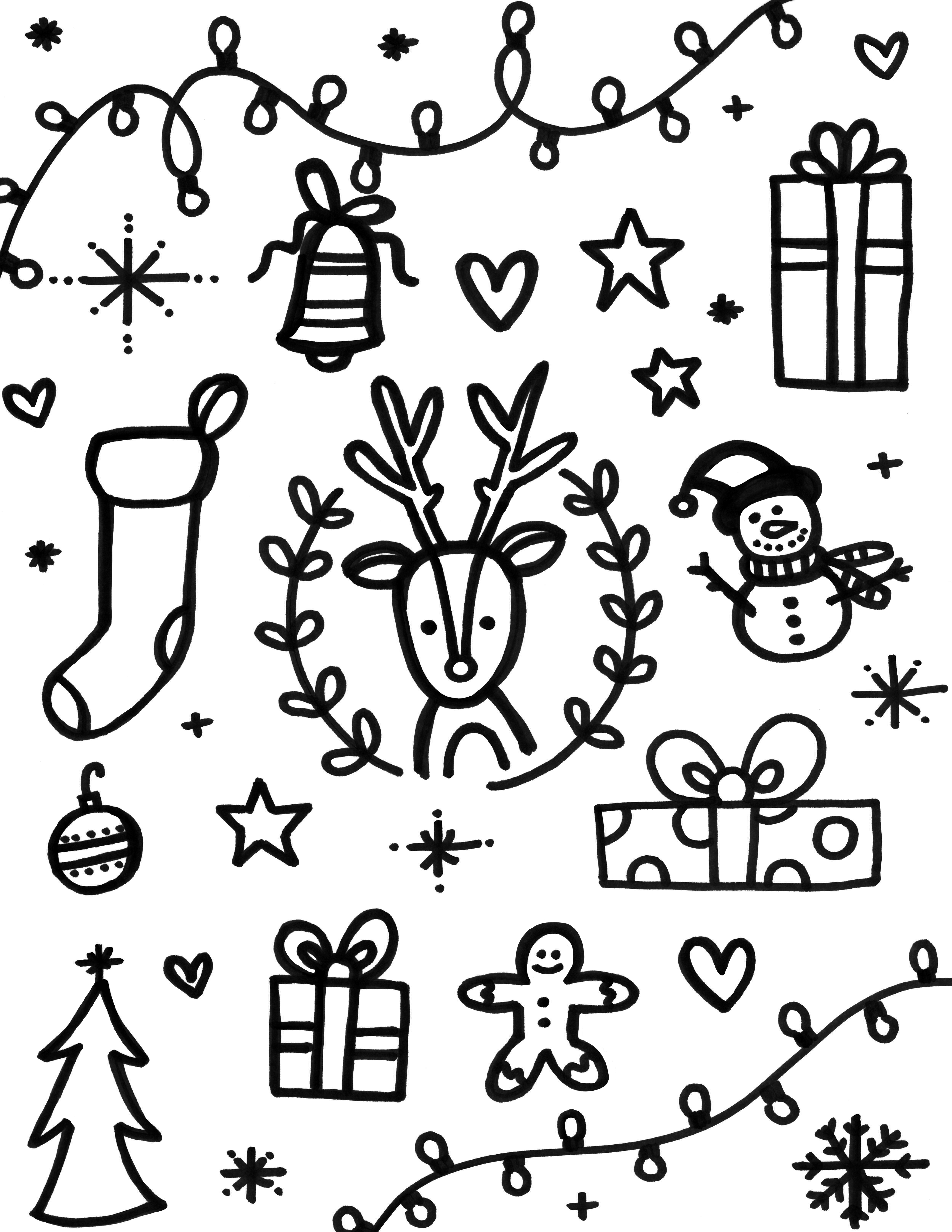 click here to get the holiday print coloring page - Pictures Coloring Pages